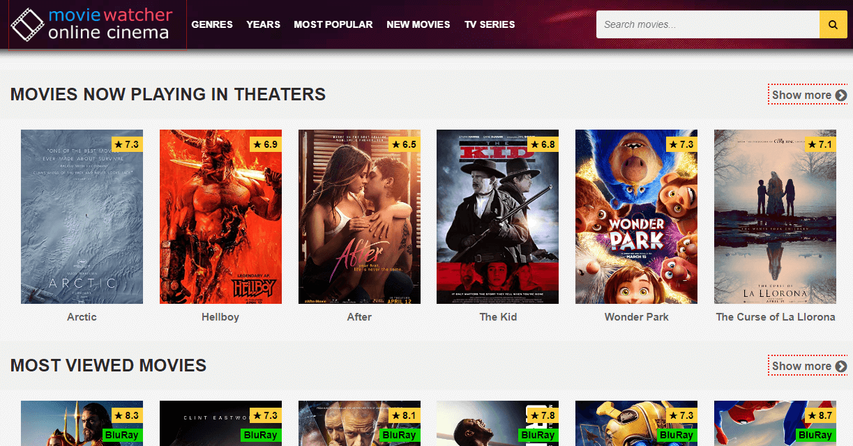 Moviewatcher Watch HD Movies Online